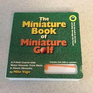 Miniature Golf Book